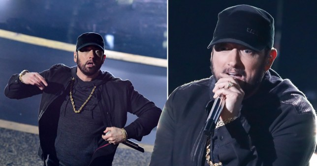 Eminem Oscars 2020 performance Lose Yourself