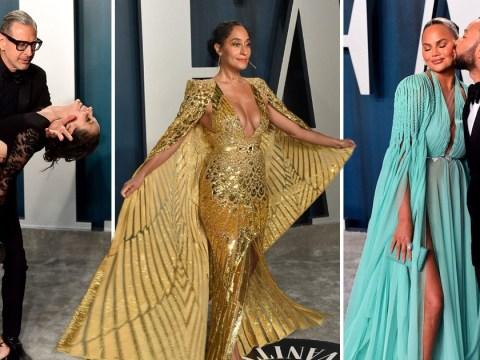 Vanity Fair Oscars party: Chrissy Teigen and John Legend, Robert De Niro and Jessica Alba lead the way