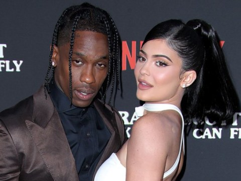 Kylie Jenner and Travis Scott party together at Oscars bash amid reunion claims