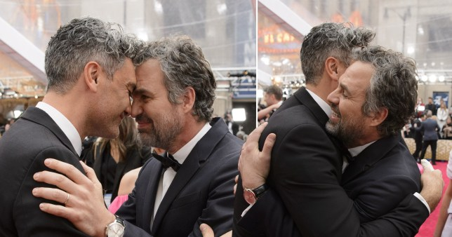 Mark Ruffalo and Taika Waititi