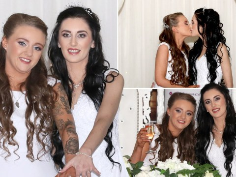 Couple 'humbled to make history' in Northern Ireland's first same-sex wedding