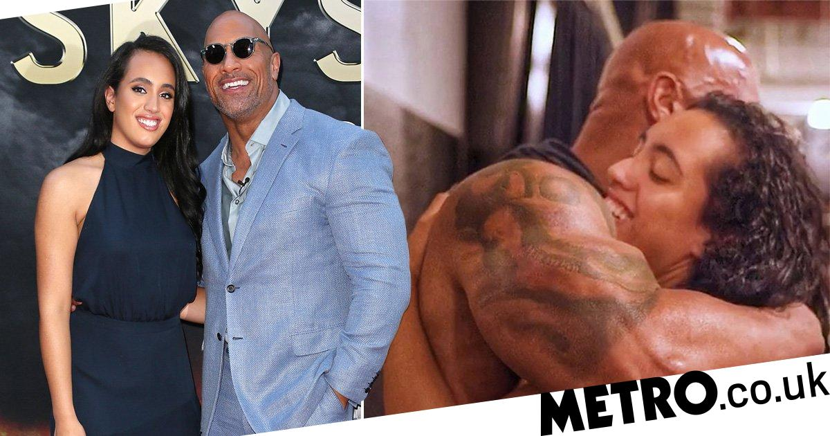 Dwayne Johnson 'proud' of daughter Simone as she signs WWE contract