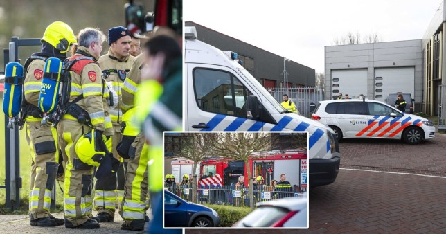 The blasts are understood to have hit post offices in Amsterdam and Kerkrade