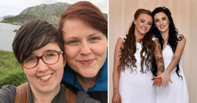Gay marriage in Northern Ireland. Lyra McKee and Sara Canning