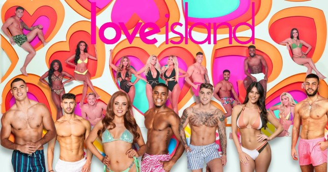 Love Island winter 2020 contestants.