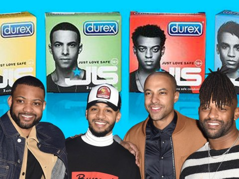Reliving JLS' glory days from branded condoms to action figures as group reunite