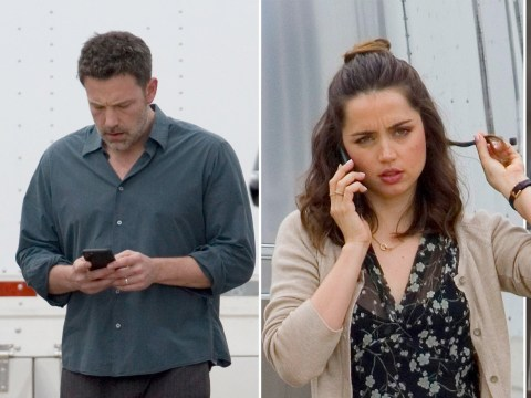 Ana De Armas and Ben Affleck get serious as they film for new movie Deep Water