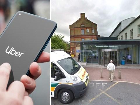 London coronavirus patient used Uber to get to hospital