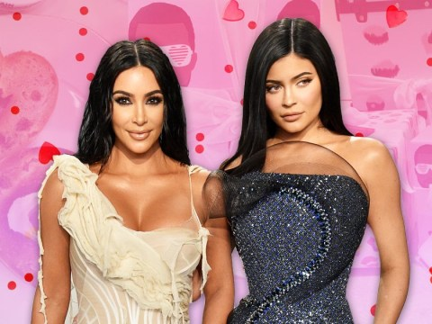 Pinata cakes, love bagels and dinosaurs: Kardashians go next level for Valentine's Day as they lead celebrations