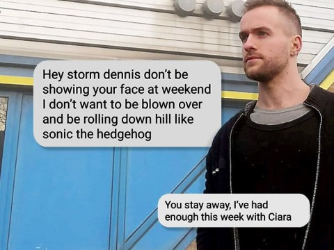 British man called Storm Denniss trolled by people begging him not to ruin their homes