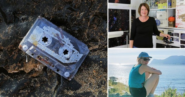 Stella Wedell lost a tape she made on a beach in Spain in 1993, and randomly found it while visiting an art exhibition in Sweden more than 25 years later