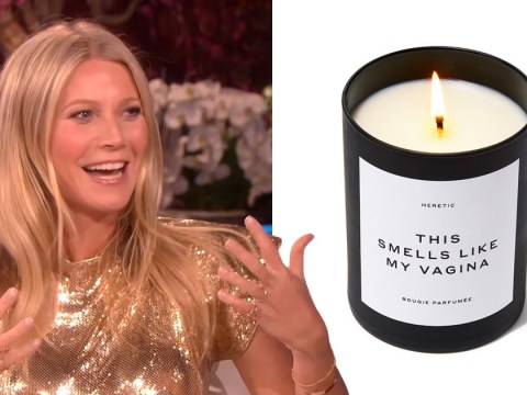 Gwyneth Paltrow says vagina candle is 'punk rock statement' and that's definitely one way to describe it