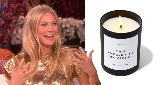 Gwyneth Paltrow and vagina candle