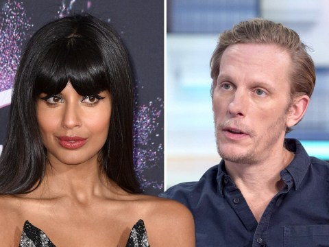 Laurence Fox still not a fan of Jameela Jamil as he accuses her of 'dining out on victimhood'
