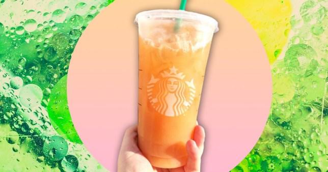 starbucks secret menu orange drink