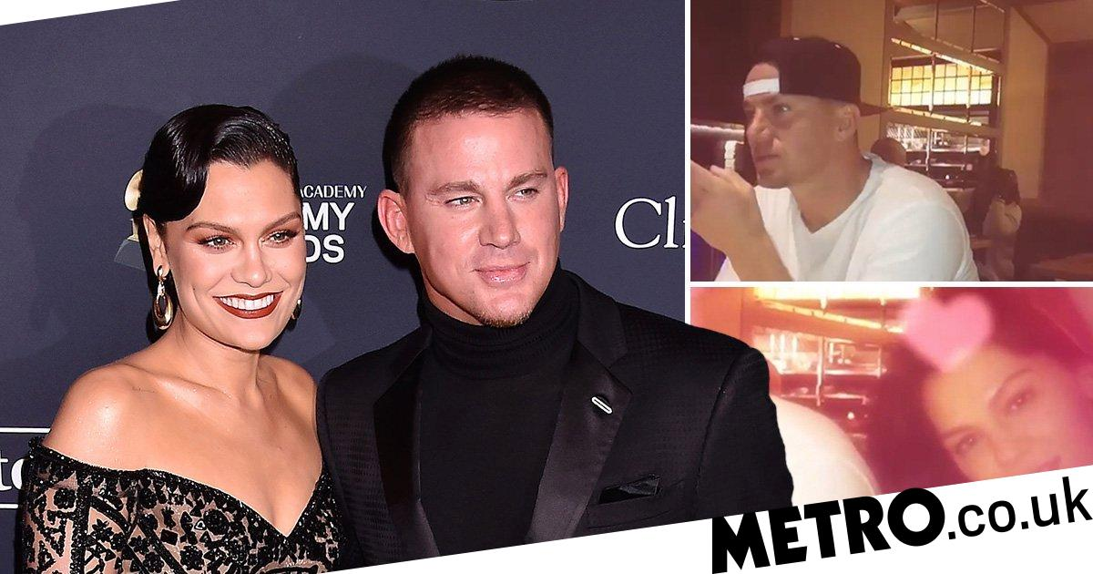 Jessie J is Channing Tatum's biggest fan as she shares Valentine's Day video