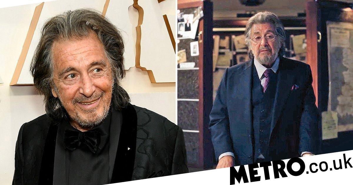 Al Pacino defends playing a Jewish Nazi hunter in new Amazon series Hunters