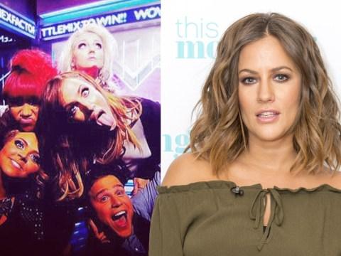 Little Mix post 'heartbroken' tribute to Caroline Flack as former X Factor host dies