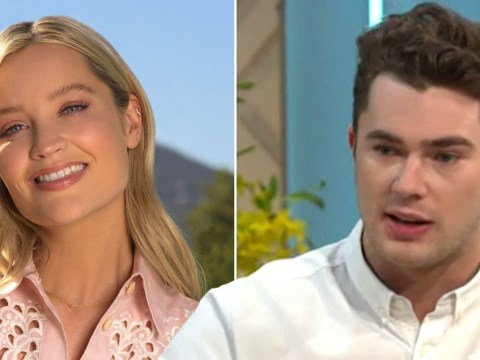 Curtis Pritchard urges Love Island fans not to give Laura Whitmore 'grief' over presenting job