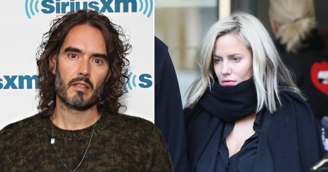 Russell Brand and Caroline Flack