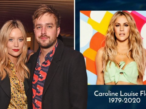 Love Island's Laura Whitmore reaches out to boyfriend Iain Stirling after heartbreaking Caroline Flack tribute: 'I know that wasn't easy'