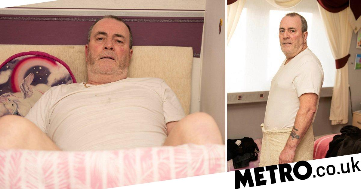 Dad suffers permanent erection after op when 1.5 tonnes of glass fell on groin