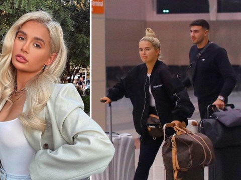 Love Island's Molly-Mae Hague and Tommy Fury land in Las Vegas as she donates all profits from latest PLT edit to mental health charity