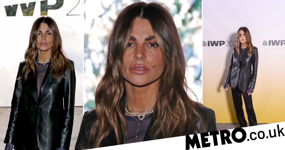 Missé Beqiri stops by LFW prize show in first appearance since brother's death