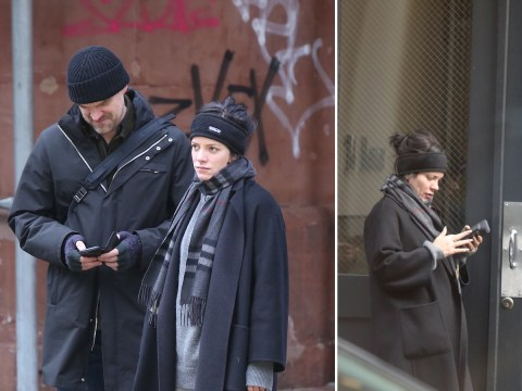 Lily Allen and David Harbour hang out in New York after Hopper's return to Stranger Things confirmed