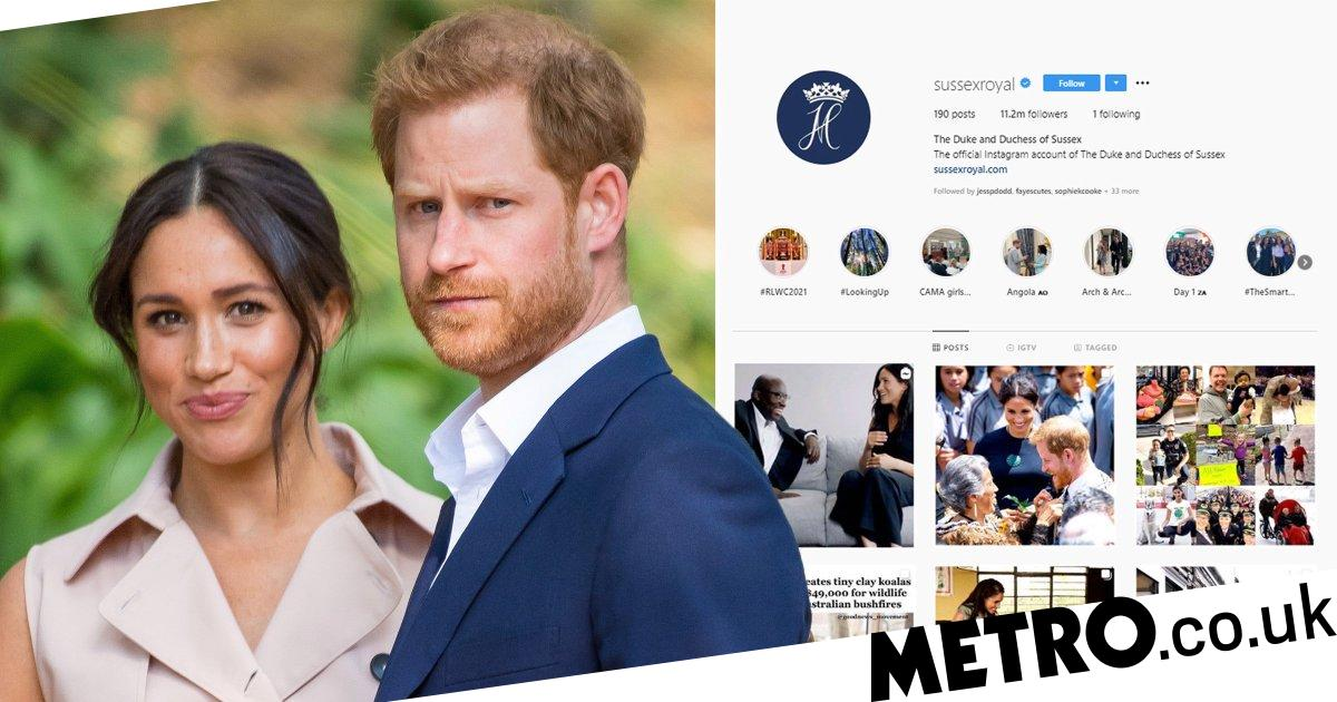 Queen 'tells Meghan and Harry they can't use Sussex Royal anymore'
