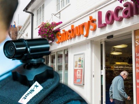 Sainsbury's staff get bodycams to stop them getting attacked at work