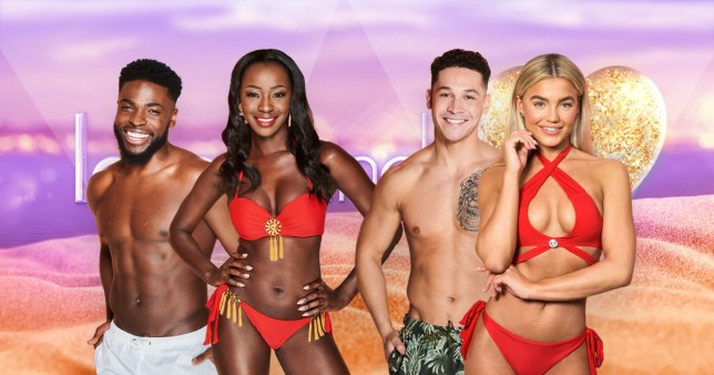 Love Island's Mike, Priscilla, Callum and Molly