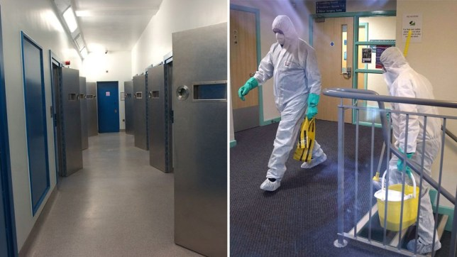 Coronavirus tests in custody suite at Stoke Police