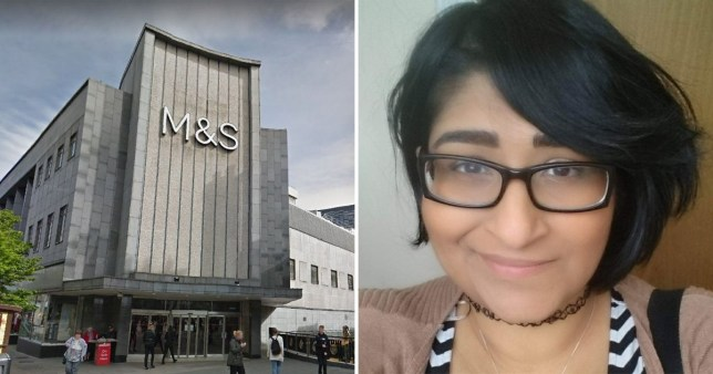 Trans shopper banned from using men's changing room at M&S