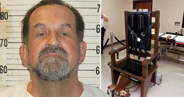 Nicholas Sutton, 58, who was executed by electric chair on Thursday, February 20 by the state of Tennessee for murdering rapist Carl Estep in prison