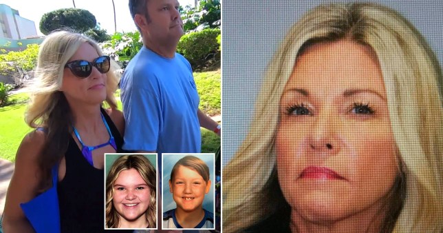 Cult mum Lori Vallow has been arrested and faces two counts of desertion over her missing kids AP/NBC