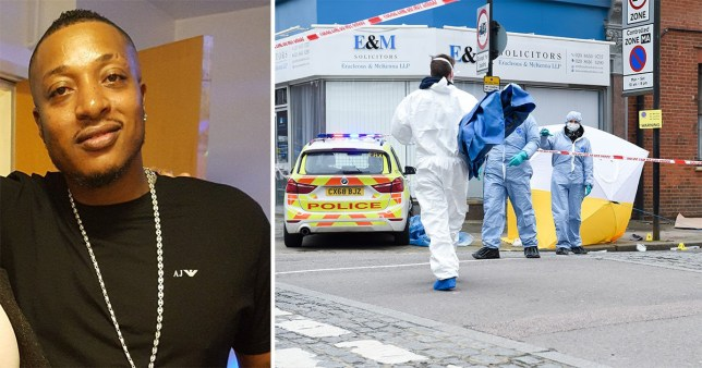 Murder probe launched after man, 42, stabbed to death in the street