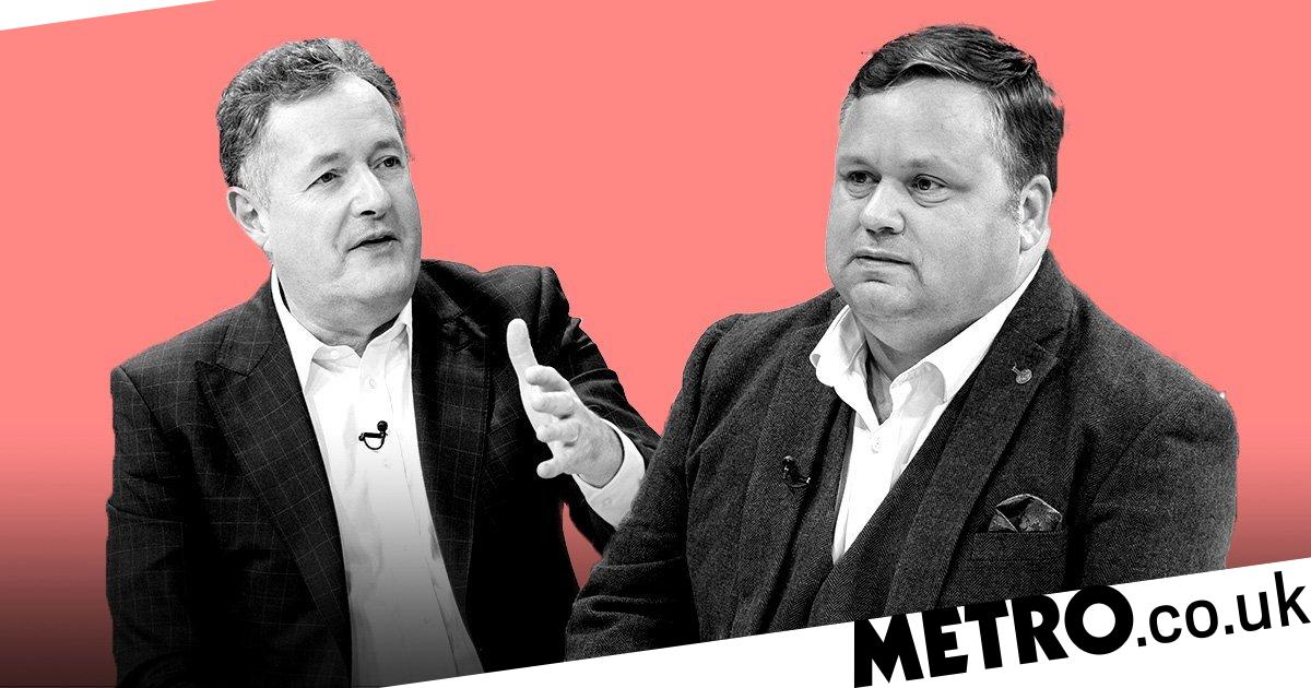 Piers Morgan clashes with Britain's Got Talent's Paul Potts over Caroline Flack