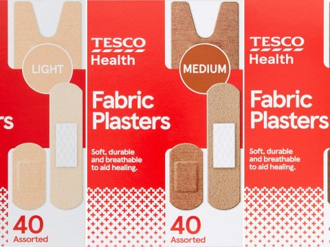 Tesco launches 'first' set of plasters that come in different skin tones