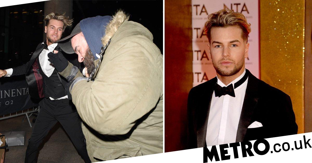 Chris Hughes dropped from Sport Relief line-up after NTA fight with paparazzo