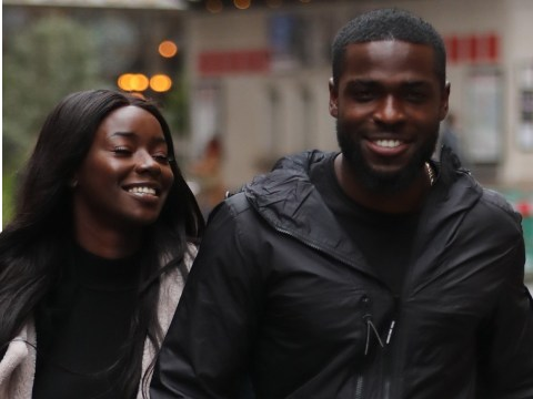 Love Island's Mike Boateng and Priscilla Anyabu all kinds of cute in first public appearance