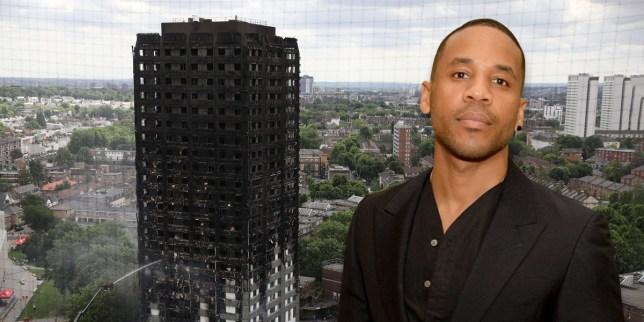 Reggie Yates Grenfell Tower fire
