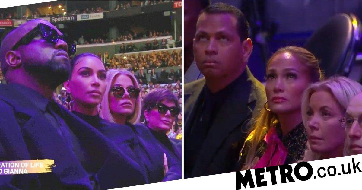 Beyonce and Kim Kardashian lead celebrities at Kobe and Gigi Bryant memorial