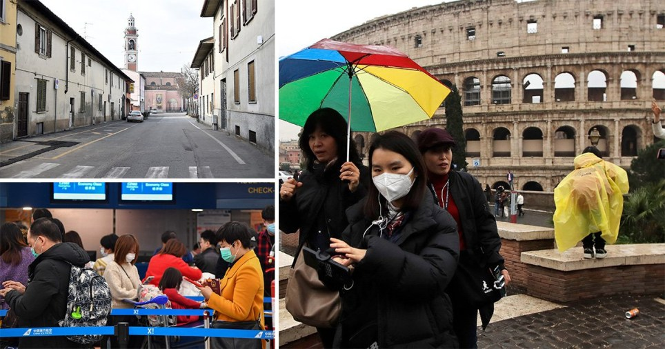 Foreign Office updates travel advice for Britons returning to UK from Italy