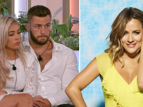 Love Island winners Paige Turley and Finley Tapp reveal moment they were told Caroline Flack died: 'We loved her'