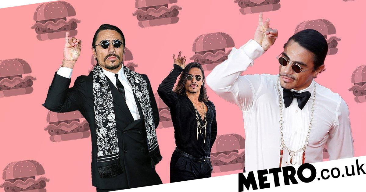 Salt Bae restaurant causes outrage with free veggie burgers 'for ladies'