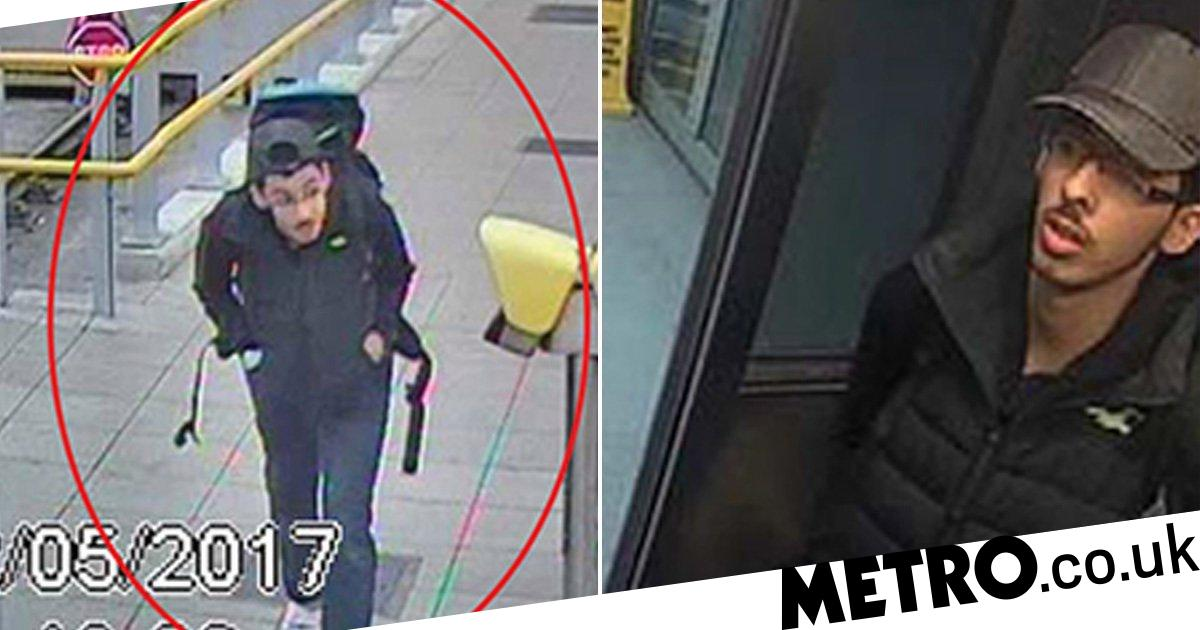 Manchester Arena bomber captured on CCTV 19 seconds before blast