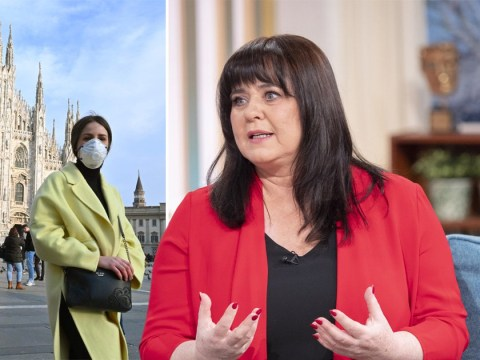 Coleen Nolan is scared of catching coronavirus as she heads to Italy to film new show with sisters