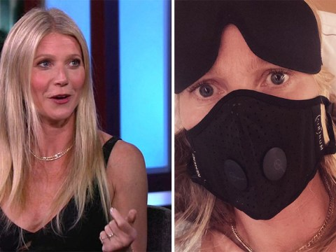 Contagion star Gwyneth Paltrow's got no time for Coronavirus as she masks up: 'I've already been in this movie'