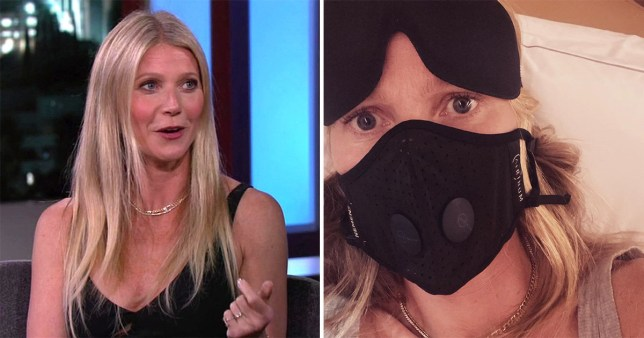 Gwyneth Paltrow mask